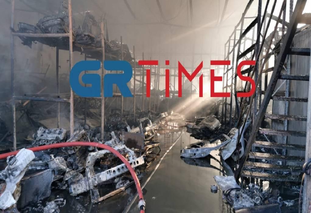 Νικόπολη: Πολλαπλές εκρήξεις στο σημείο της πυρκαγιάς