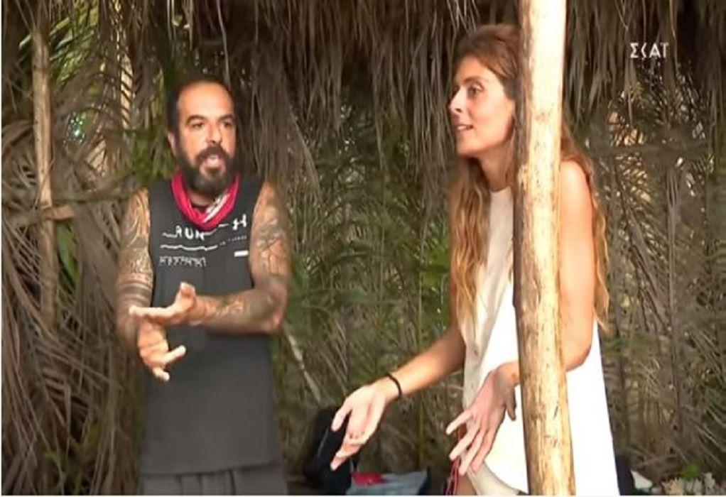 Survivor 4: Στα «μαχαίρια» Ανθή Σαλαγκούδη – Τριαντάφυλλος (VIDEO)