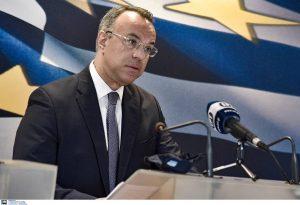 Σταϊκούρας: Άνω των 3 δισ. ευρώ το μηνιαίο κόστος από ένα σκληρό lockdown