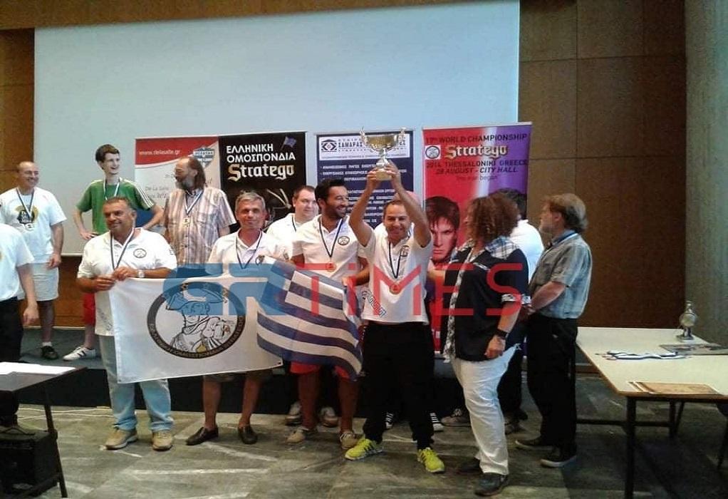 Στην Ελλάδα το παγκόσμιο πρωτάθλημα Stratego – Πάει για το χρυσό ο Στ. Σεκερτζής