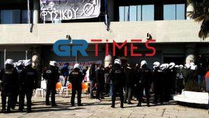 Πρυτανικές αρχές: Μόνο 12 εκ των συλληφθέντων είναι φοιτητές του ΑΠΘ