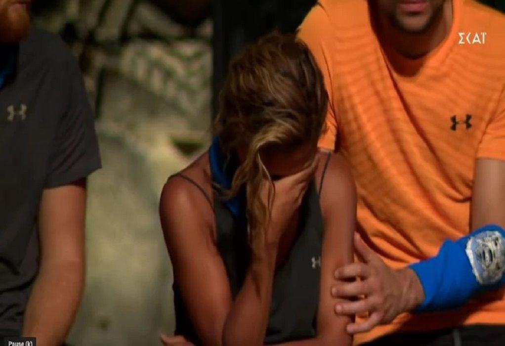 Survivor 4: Φωνές και κλάματα στο συμβούλιο – Το ξέσπασμα της Ελ. Ελευθερίου (VIDEO)