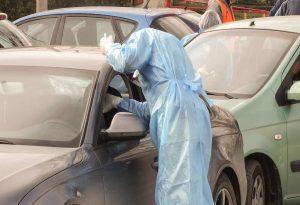 Ολοκληρώθηκαν τα drive through rapid test Covid-19 στον Λαγκαδά