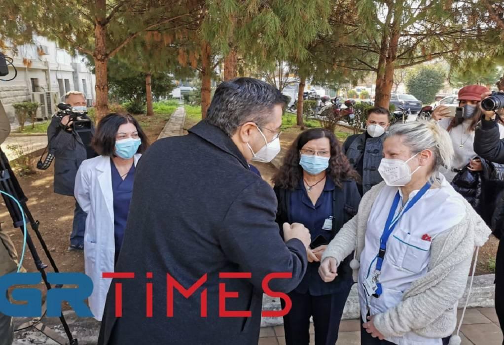 ΠΚΜ: Φορητοί αναπνευστήρες και rapid test δωρεά για τα νοσοκομεία (ΦΩΤΟ+VIDEO)