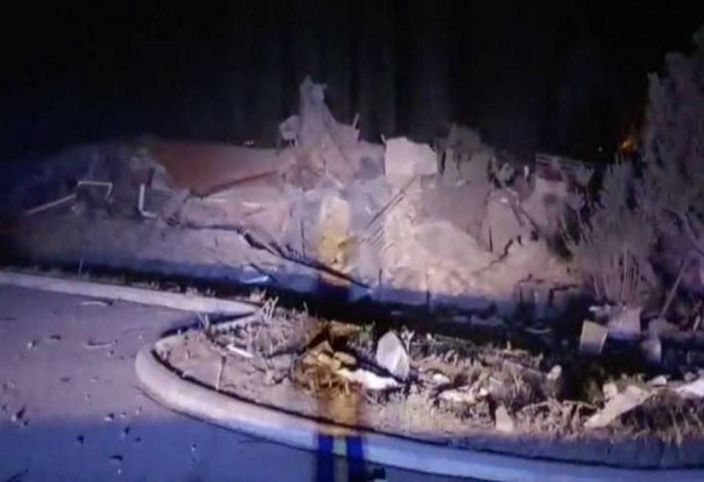 Καστοριά: Ισχυρή έκρηξη ισοπέδωσε το ξενοδοχείο «Τσάμης» (ΦΩΤΟ-VIDEO)