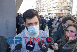 Μήνυση κατά αστυνομικών θα καταθέσει φοιτητής του ΑΠΘ (VIDEO)