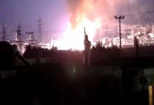 Μπλακ άουτ στην Αττική: Φωτιά σε υποσταθμό της ΔΕΗ στον Ασπρόπυργο (VIDEO)