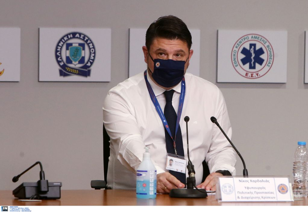 Ν. Χαρδαλιάς: Η Πολιτική Προστασία έκανε άλματα δεκαετιών εν μέσω πανδημίας
