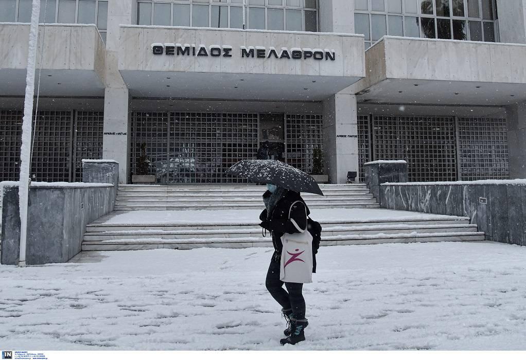 Κακοκαιρία-Αττική: Αναστέλλονται σήμερα οι εργασίες των δικαστηρίων