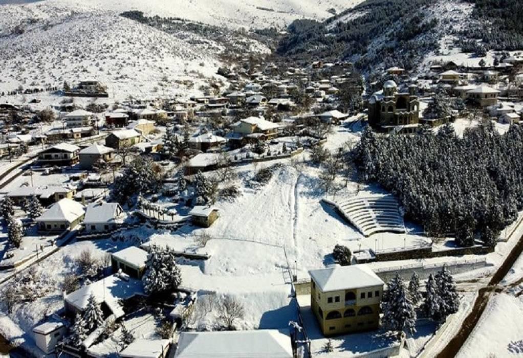 Μήδεια – Μεσόβουνο: Το χωριό με το ρεκόρ χαμηλής θερμοκρασίας (-19,9)