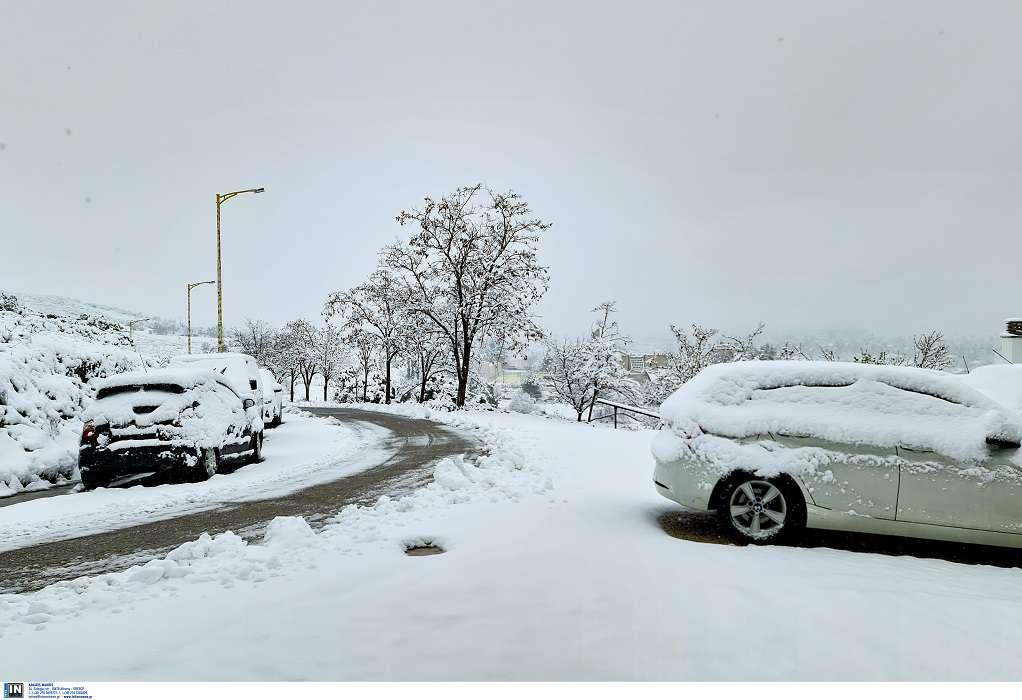 Κακοκαιρία «Μήδεια»: Δείτε LIVE που χιονίζει στην Ελλάδα