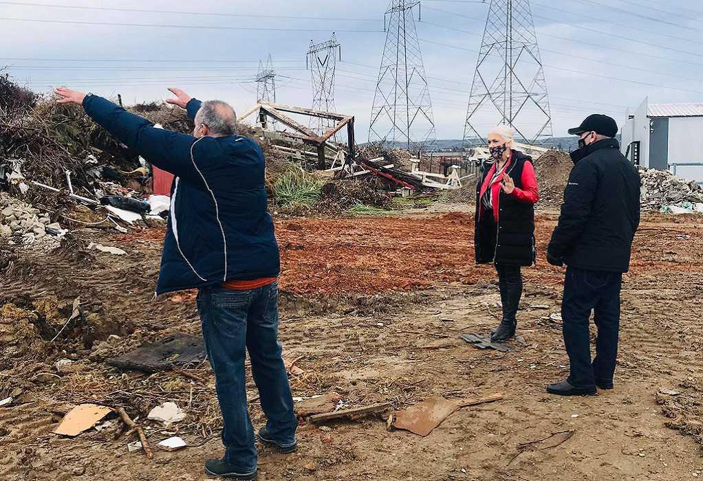 Δ. Ωραιοκάστρου: Επιχείρηση για να κλείσει παράνομη χωματερή στην περιοχή «Κοσκινάς»