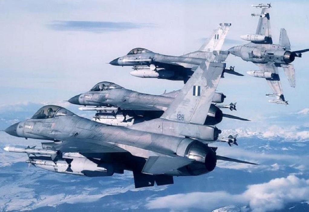 Άγκυρα: Ελληνικά F-16 πέταξαν πάνω από το Τσεσμέ