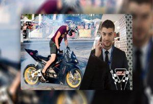 Αιγάλεω: Ο YouTuber Αντρέας Ρίγκο κατέγραφε με κάμερα τη μοιραία σύγκρουση