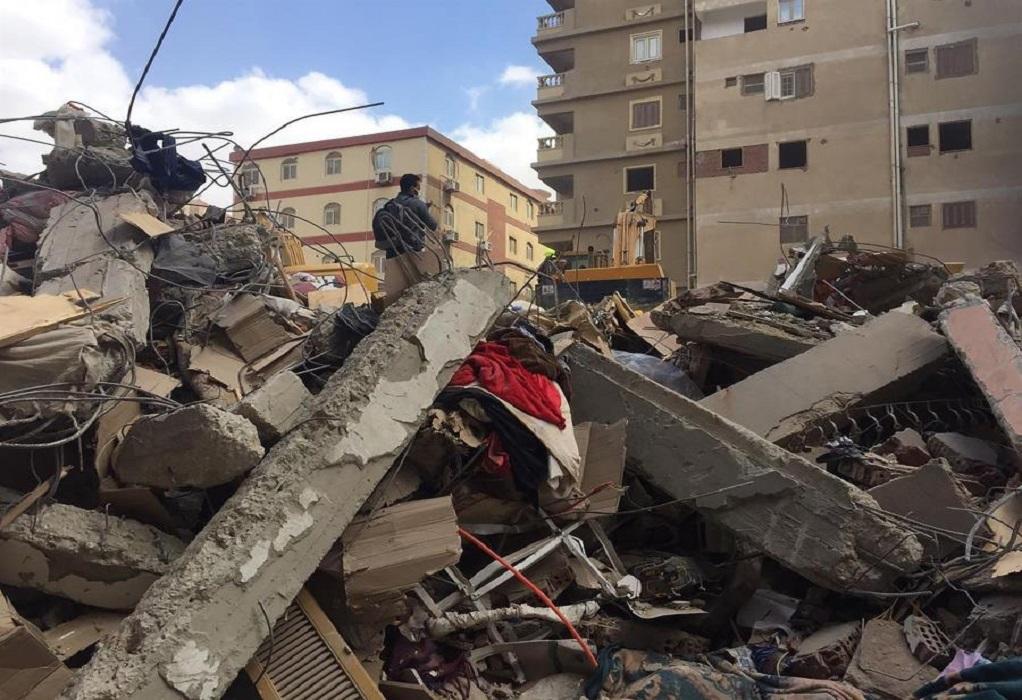 Κάιρο: Στους 25 οι νεκροί από την κατάρρευση της δεκαώροφης πολυκατοικίας