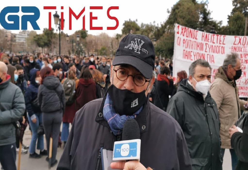 Απασφάλισε ο Μυλόπουλος για το ΑΠΘ: «Κάποιοι ήθελαν αίμα» (VIDEO)