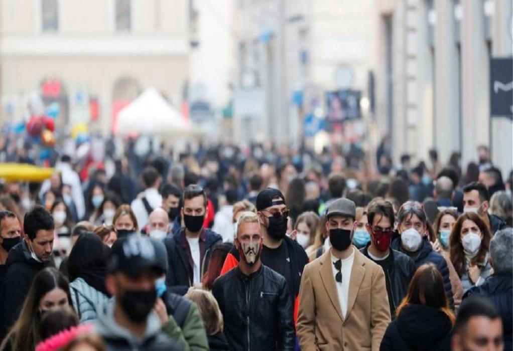 Ιταλία: 15.746 νέα κρούσματα – «Φρένο» στον εμβολιασμό εκπαιδευτικών
