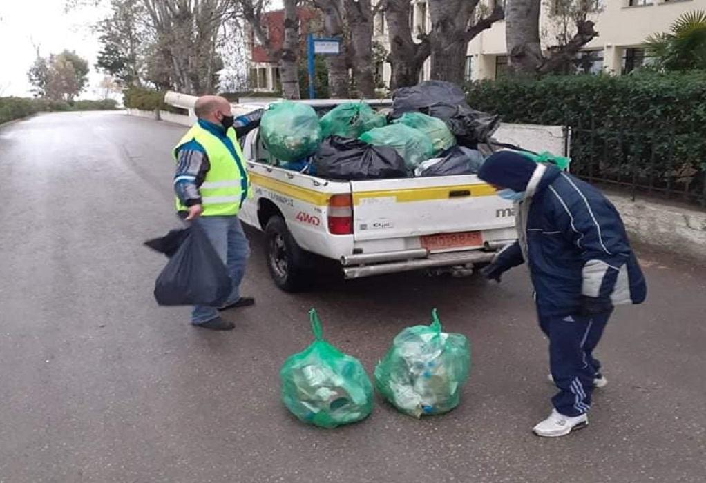 Επταήμερη πλέον η «μάχη» της καθαριότητας στην Καλαμαριά