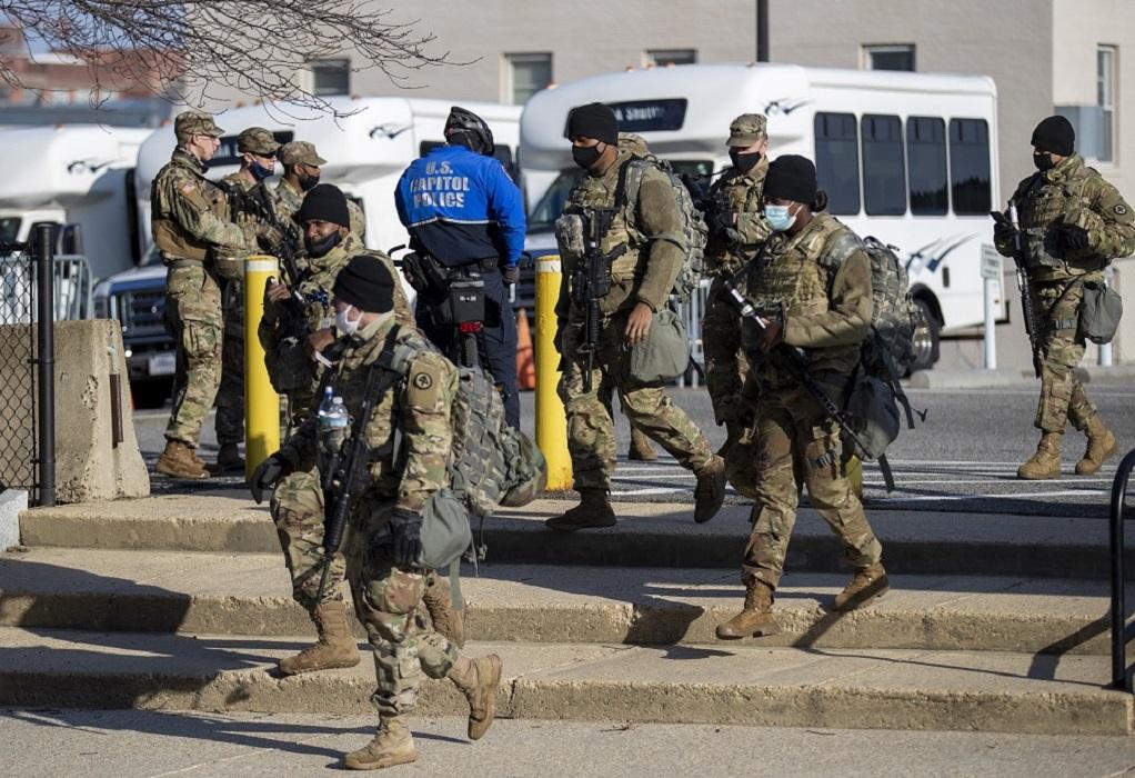 ΗΠΑ: Αίτημα να μείνει για άλλους δύο μήνες η Εθνοφρουρά στην Ουάσινγκτον