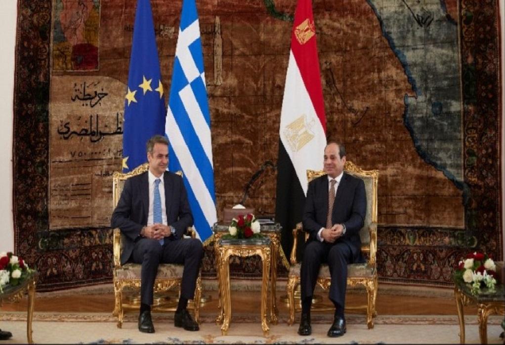 Οι περιφερειακές εξελίξεις στο επίκεντρο για Μητσοτάκη – αλ Σίσι