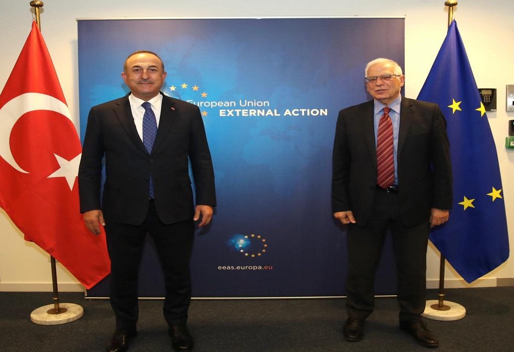 Τσαβούσογλου: Συνεργασία με ΕΕ για να συνεχίσουμε τη θετική ατζέντα