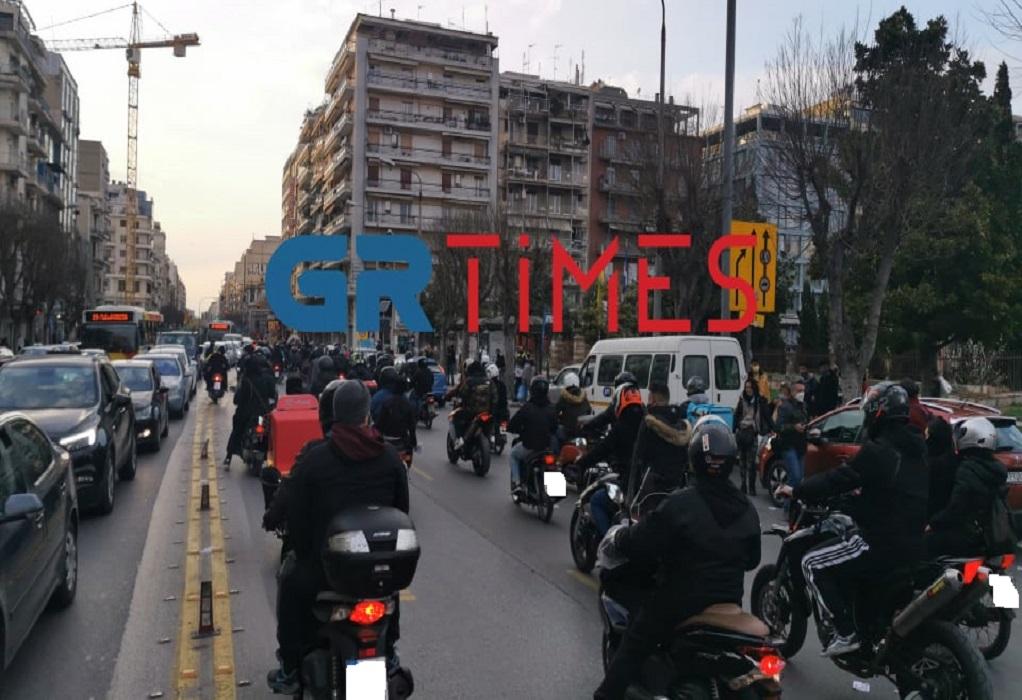 Θεσσαλονίκη: Μοτοπορεία για τον θάνατο του 23χρονου Ιάσονα (ΦΩΤΟ+VIDEO)