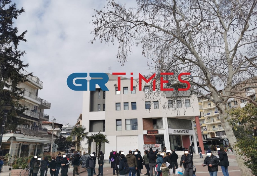 Εύοσμος: Διαμαρτυρία για την κρατική διαχείριση της πανδημίας (ΦΩΤΟ+VIDEO)