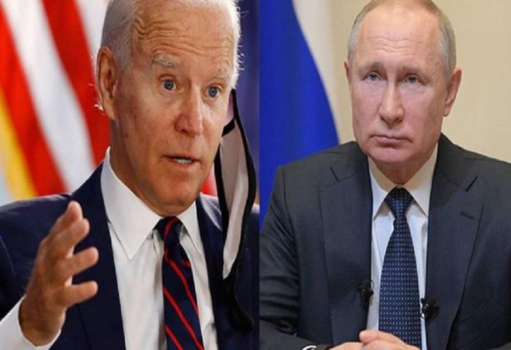ΗΠA: Ο Μπάιντεν αισιοδοξεί ότι θα συναντηθεί σύντομα με τον Πούτιν