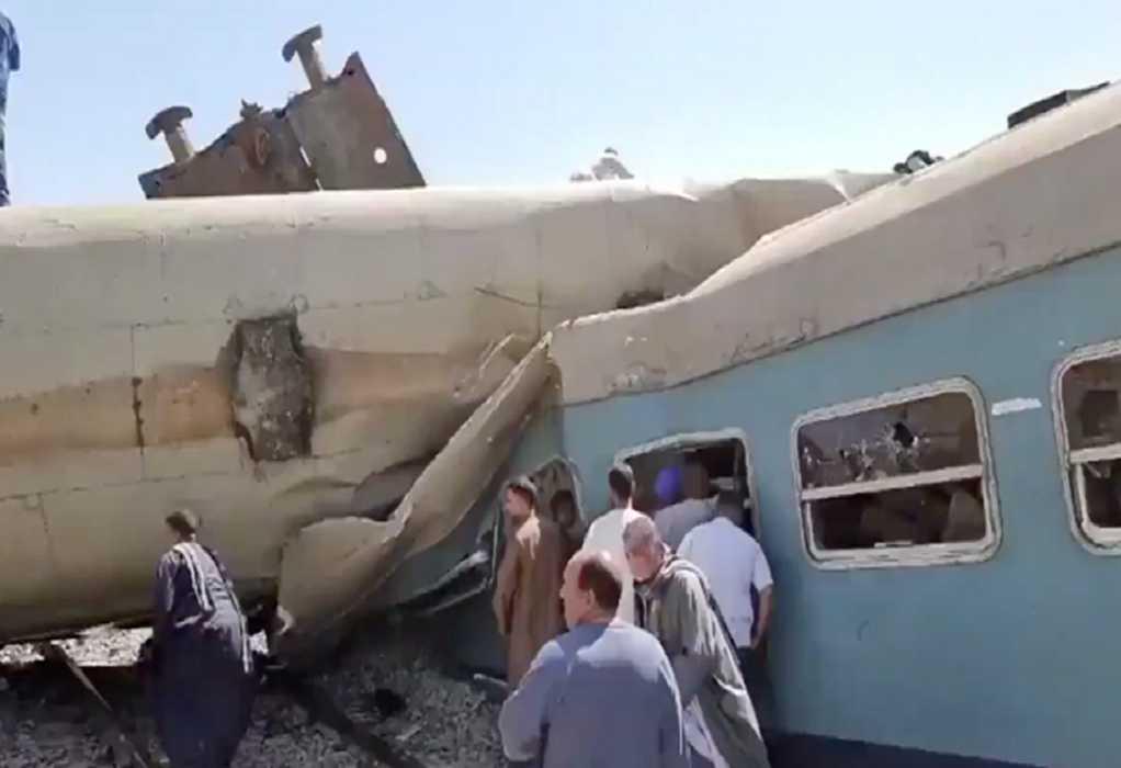 Αίγυπτος: 11 άνθρωποι σκοτώθηκαν και 98 τραυματίστηκαν από εκτροχιασμό τρένου