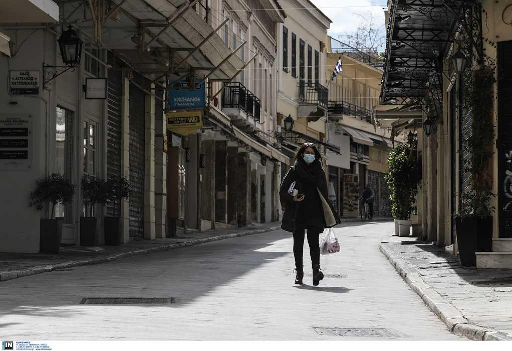 """Επιδημιολογικός χάρτης: Σταθερά στο """"κόκκινο"""" το κέντρο της Αθήνας"""