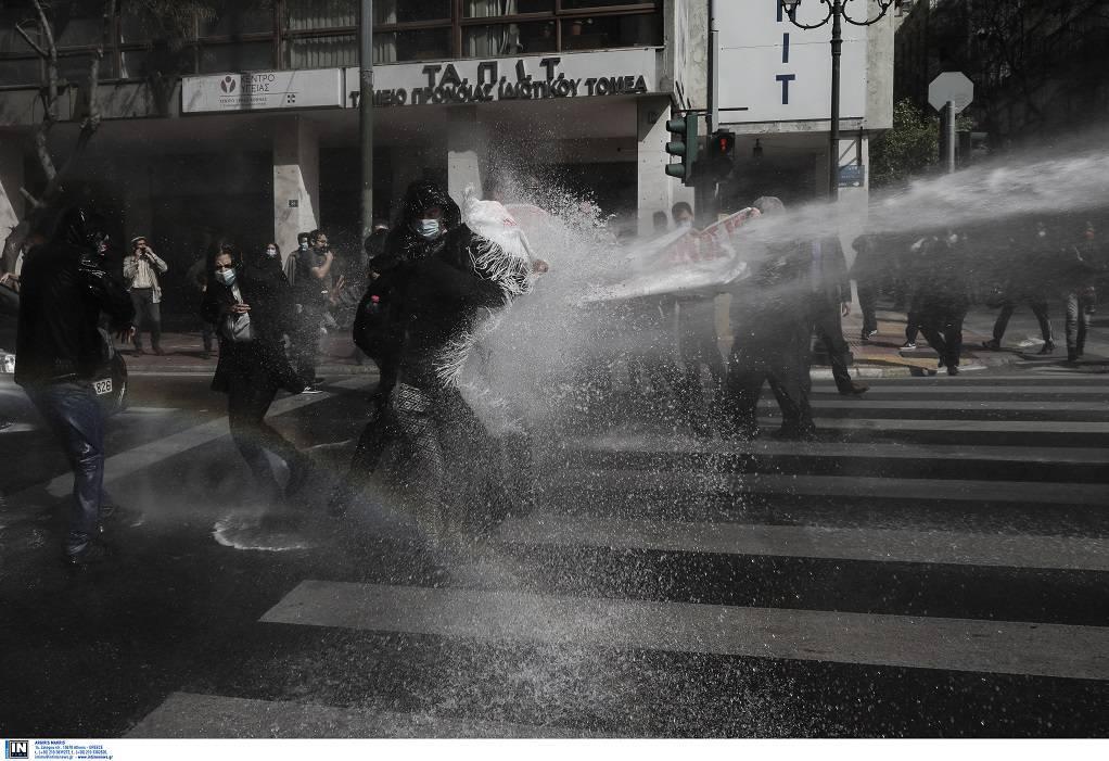 Αθήνα: Δεκάδες προσαγωγές στη συγκέντρωση για τον Κουφοντίνα