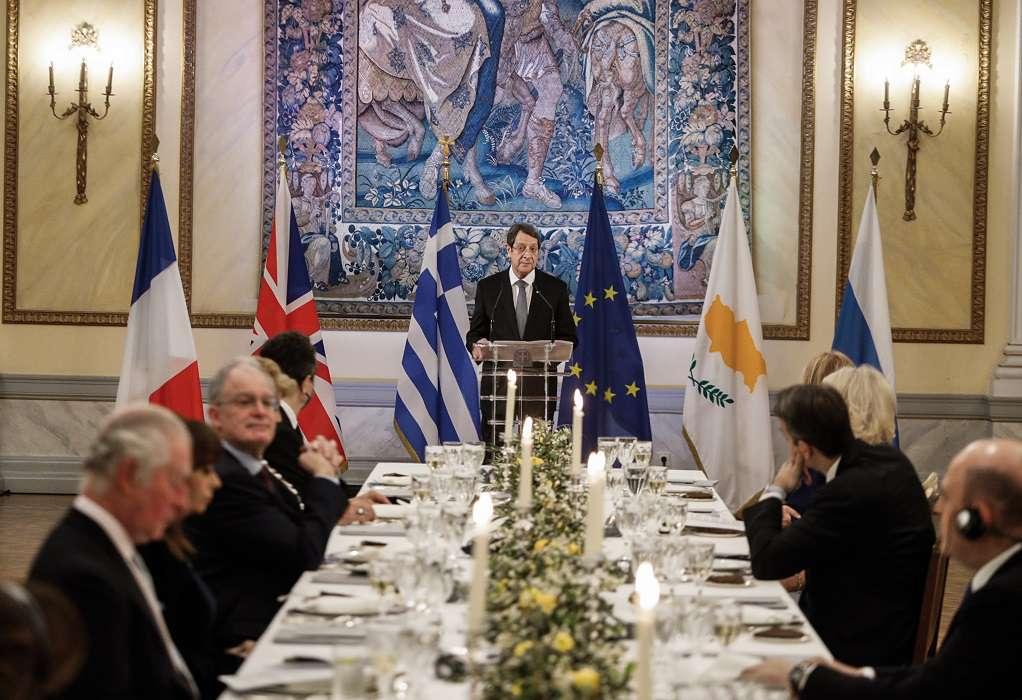 Ν. Αναστασιάδης: Το σύνθημα «Ελευθερία ή Θάνατος», συμπυκνώνει ολόκληρη την ιστορία του σύγχρονου Ελληνισμού