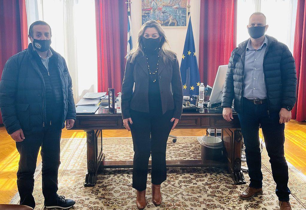 Συνάντηση Μ. Αντωνίου με τη Διοίκηση της Ελληνικής Ομοσπονδίας Γούνας
