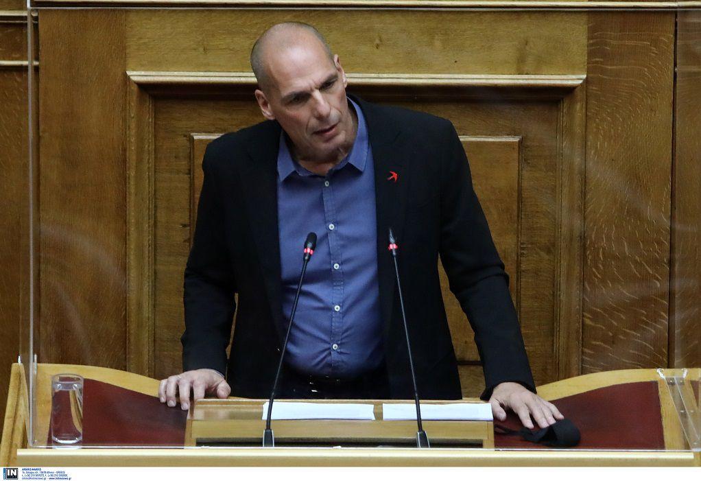 Βαρουφάκης: Η Κυβέρνηση δεν έχει κάνει τίποτα για να προκαλεί την αισιοδοξία