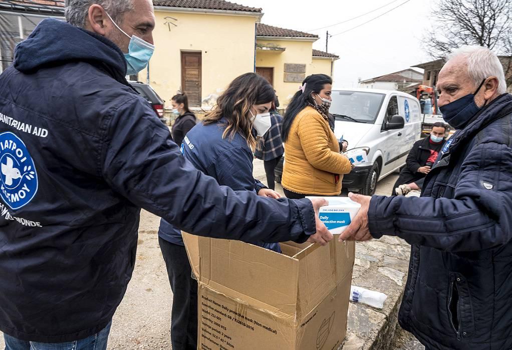 Ανθρωπιστική αποστολή των Γιατρών του Κόσμου στην Ελασσόνα