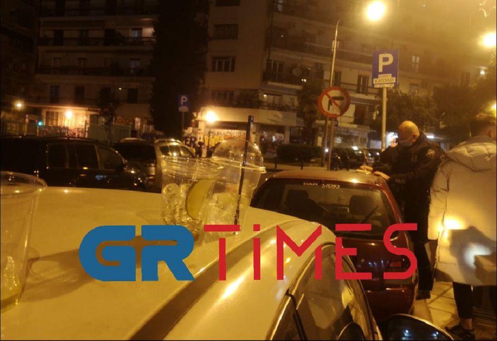 Το «πάρτι» συνεχίστηκε στα στενά της Θεσσαλονίκης (ΦΩΤΟ-VIDEO)