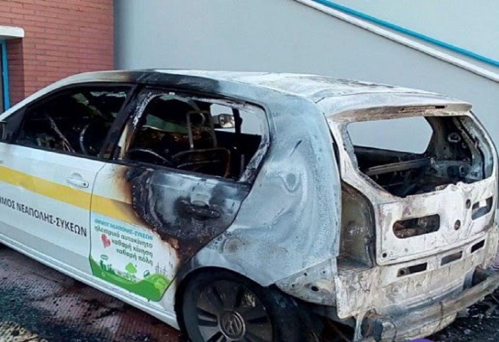 Η ΚΕΔΕ καταδικάζει εμπρησμούς δημοτικών οχημάτων