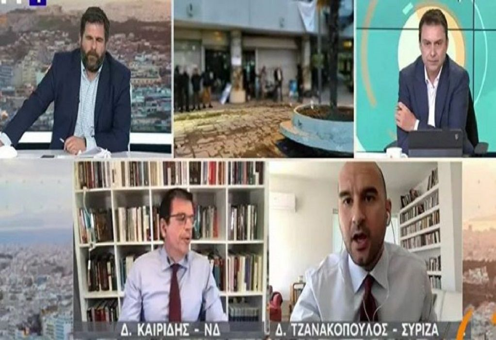 Άγριος καυγάς στον αέρα της ΕΡΤ ανάμεσα σε Καιρίδη και Τζανακόπουλο (VIDEO)