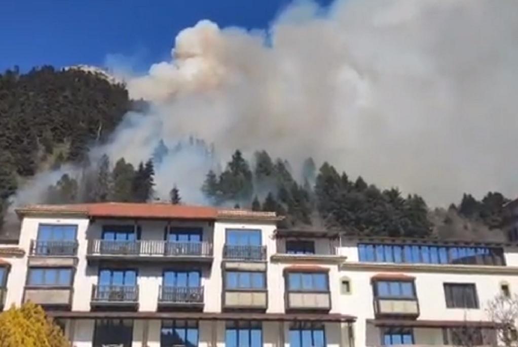 Υπό έλεγχο η φωτιά στο Καρπενήσι – Το ίδιο σημείο ξανακάηκε και πριν 2 χρόνια