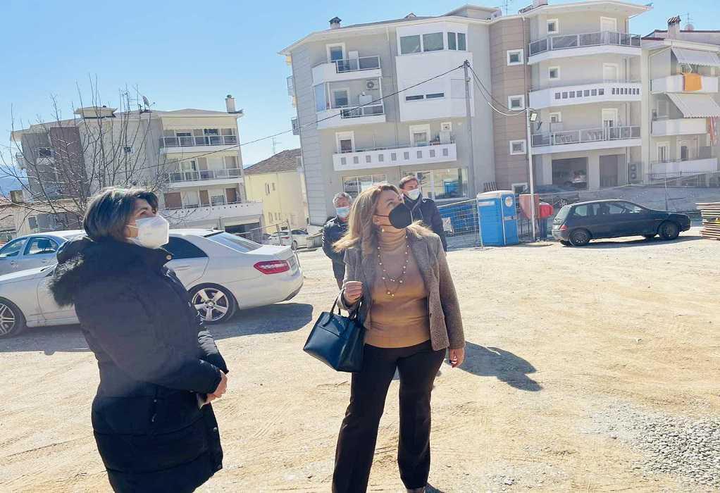 Καστοριά: Επίσκεψη Μ. Αντωνίου στο υπό ανέγερση Αστυνομικό Μέγαρο