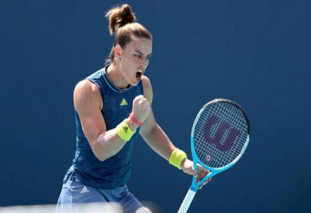 Roland Garros: Πέρασε στον τρίτο γύρο η Σάκκαρη