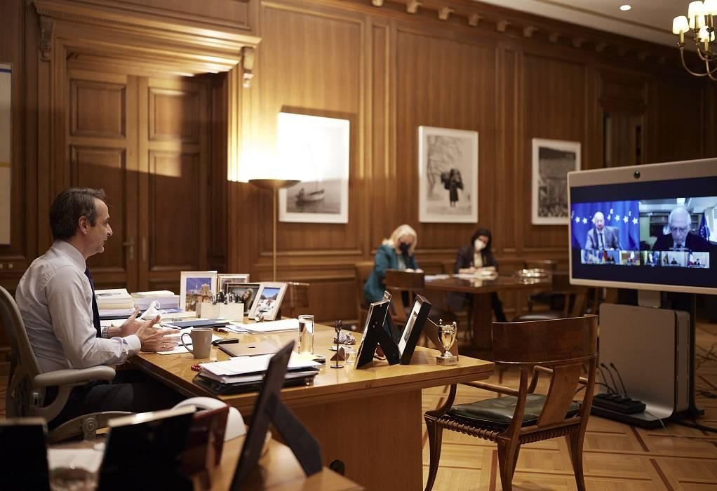 Ολοκληρώθηκε η άτυπη προπαρασκευαστική τηλεδιάσκεψη του Ευρωπαϊκού Συμβουλίου