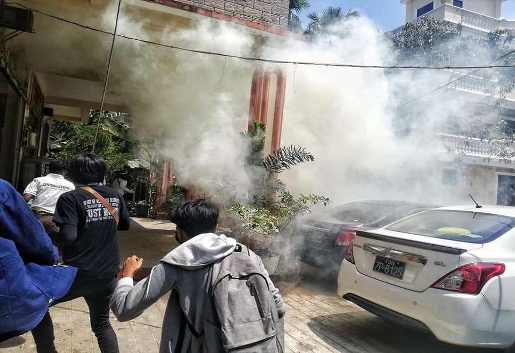 Μιανμάρ: Νεκροί δύο διαδηλωτές από αστυνομικά πυρά
