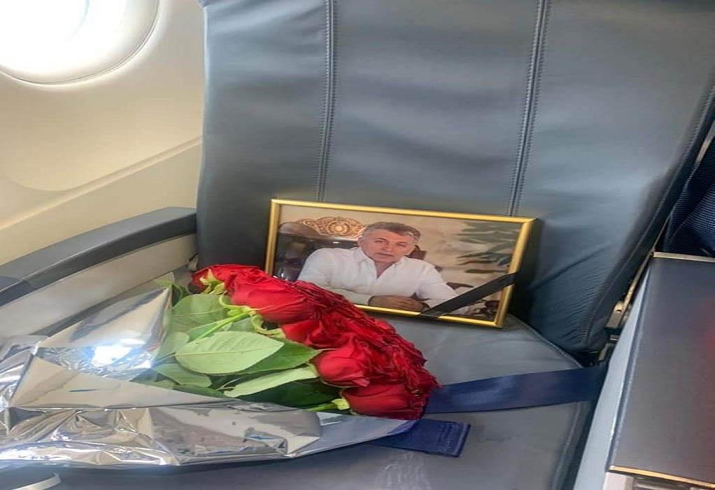 Ο κόσμος του τουρισμού αποχαιρετά με δάκρυα τον Μπόρις Μουζενίδη (ΦΩΤΟ)