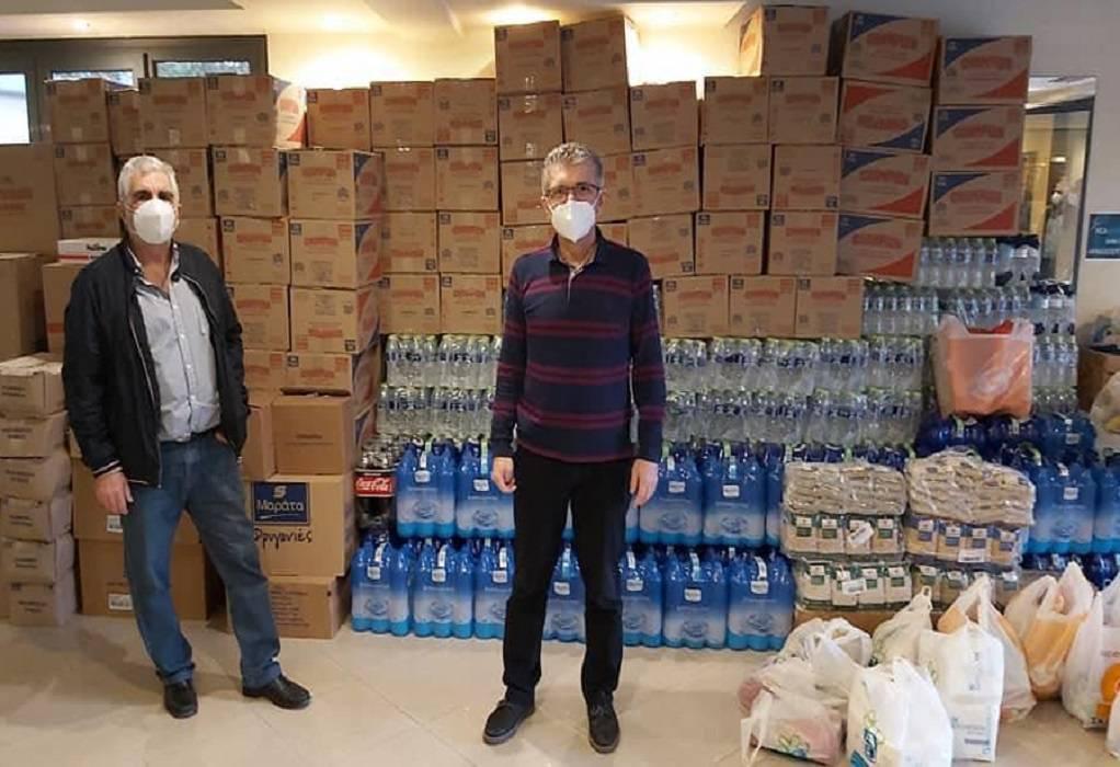 Βοήθεια της ΝΔ στα σεισμόπληκτα χωριά της Λάρισας