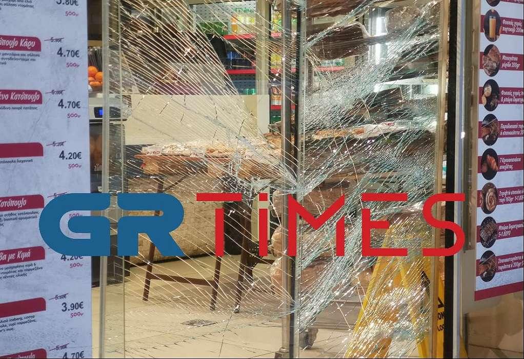 Σοβαρό επεισόδιο στη Θεσσαλονίκη – Έκαναν γυαλιά καρφιά κατάστημα (ΦΩΤΟ-VIDEO)