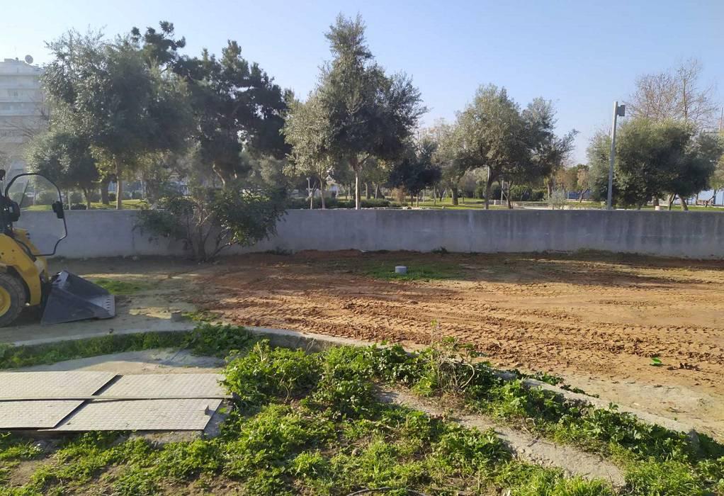 Συνεχίζονται οι δράσεις εξωραϊσμού στη Νέα Παραλία Θεσσαλονίκης