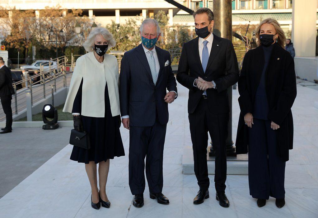 LIVE: Η επίσκεψη του Πρίγκιπα Καρόλου στην Εθνική Πινακοθήκη