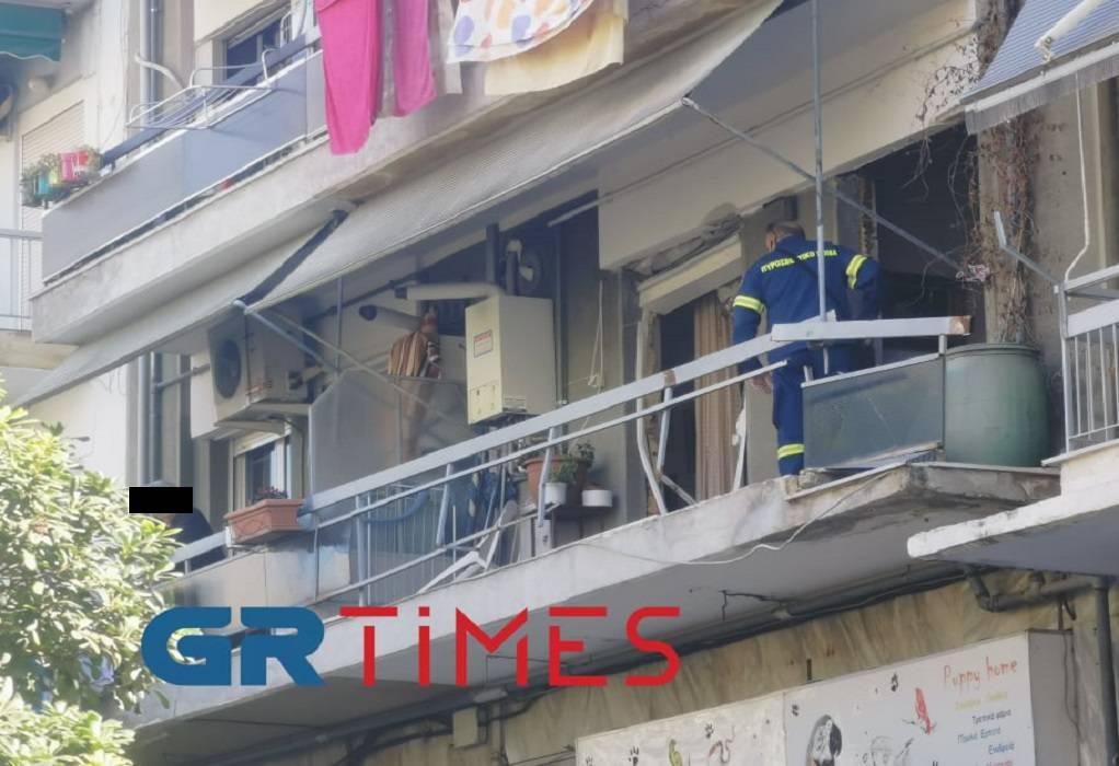 Θεσ/νίκη: Έκρηξη σε διαμέρισμα – Συναγερμός στην Πυροσβεστική (ΦΩΤΟ-VIDEO)