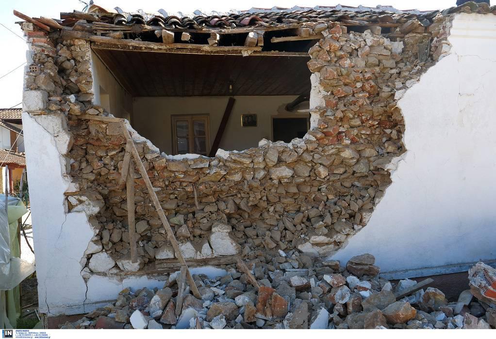Θεσσαλία: 1.722 ακατάλληλες κατοικίες από το σεισμό